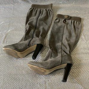 Michael Kors - Suede Leather Tall Boots - Size 7